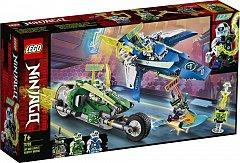 LEGO Ninjago,Masinile rapide de curse ale lui Jay si Lloyd