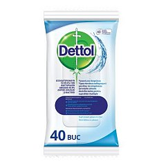 Servetele dezinfectante Dettol Fresh, 40 buc