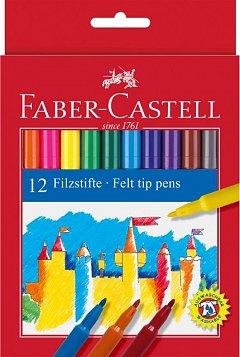 Markere pt copii,12b/set,Faber