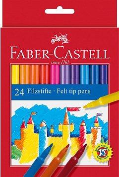 Markere pt copii,24b/set,Faber
