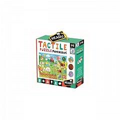 Puzzle Headu - Montessori, Puzzle tactil