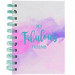 Caiet cu spira, Fabulous Friends,A5