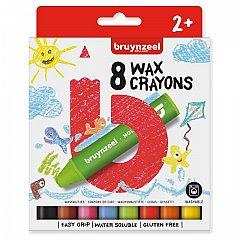 Creioane cerate,Bruynzeel,8buc/set