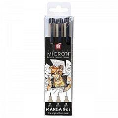 Liner Sakura Pigma Micron,3buc/set,Manga