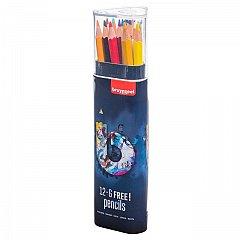 Creion colorat,Bruynzeel,12+6buc/set,dark
