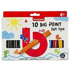 Marker pt copii,Bruynzeel,Big Point,10buc/set
