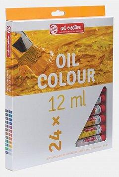 Tub culori ulei,Art Creation,12ml,24buc/set