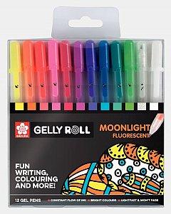 Pix cu gel Sakura Gelly Roll,Moonlight,12buc/set