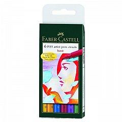 Set Pitt Artist Pen,6buc/set,culori de baza