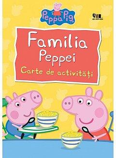 PEPPA PIG. FAMILIA PEPPEI. CARTE DE ACTIVITATI (PB)