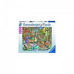 Puzzle Noapte In Librarie, 1000 Pcs,Ravensburger