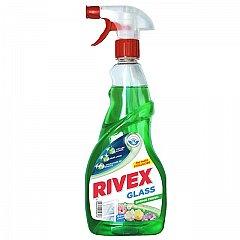Solutie pentru curatat geamuri, Rivex Glass Spring Fresh, pulverizator, 750 ml