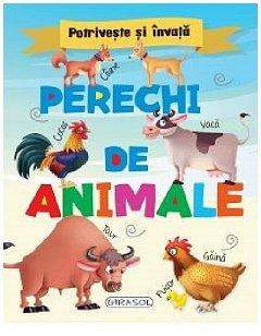POTRIVESTE SI INVATA. PERECHI DE ANIMALE