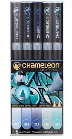 Marker Chameleon,5b/set,Blue