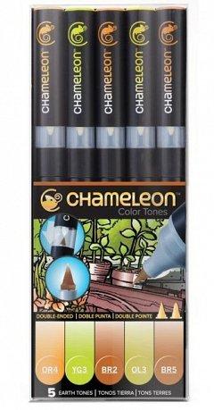 Marker Chameleon,5b/set,Pamantii