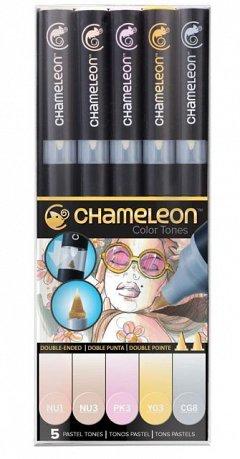 Marker Chameleon,5b/set,Pastel