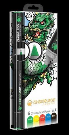 Marker Chameleon,5b/set,Primare