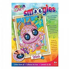 Set creativ Smoogles,Caracatita Splash,34x25cm,Sequin Art,6ani+