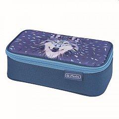 Penar tip borseta Herlitz, Be.Bag Beat Box, 22.5x12x7 cm, Wild Animals Wolf