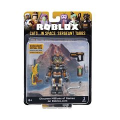 Figurina Roblox,Celebrity,Cats in space,Sergeant tabs,S5,6ani+