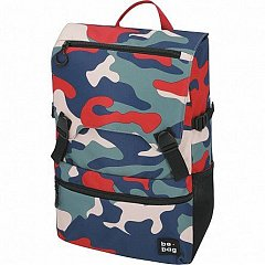Rucsac Be.Bag Be.Smart, 43x28x13cm, Camouflage