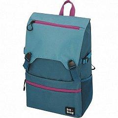 Rucsac Be.Bag Be.Smart, 43x28x13cm, albastru petrol