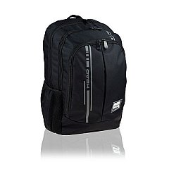 Rucsac Head Smart Black I, 46.5x32x18cm, 3 compartimente, pentru laptop