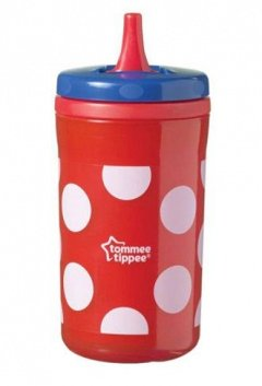 Tommee Tippee, cana Cool Cup, 380ml, rosu