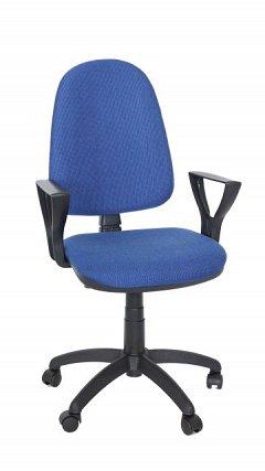 Scaun birou ergonomic Golf LX, albastru/negru