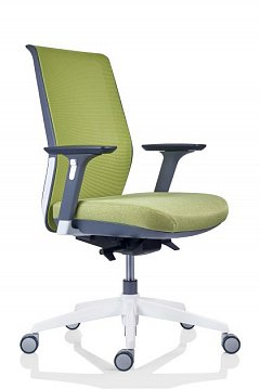 Scaun birou ergonomic Tesla PDH, verde