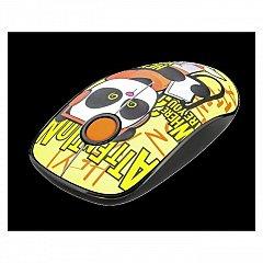 Mouse Trust Sketch Silent Click, wireless, USB, galben
