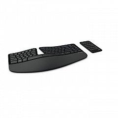 Tastatura Microsoft Sculpt Ergonomic Business, wireless, numpad inclus, negru