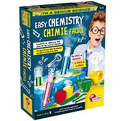 Experimentele micului geniu - Chimie distractiva, Lisciani, 8 ani+