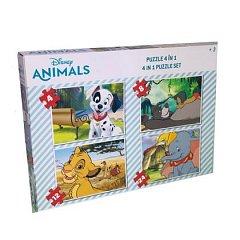Puzzle Disney Animals, 4 in 1, animale