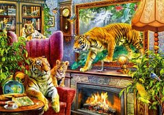 Puzzle Bluebird - Tigers Coming to Life, 1.000 piese (70310-P)