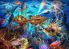 Puzzle Bluebird - Marchetti Ciro: Aqua City, 1.000 piese (70121)