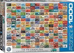 Puzzle Eurographics - Volkswagon Groovy Bus, 1.000 piese (53371)