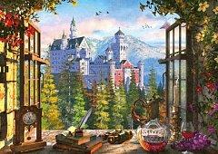 Puzzle Schmidt - View Of The Fairytale Castle, 1.000 piese (58386)