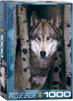 Puzzle Eurographics - Gray Wolf, 1.000 piese (62275)