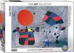 Puzzle Eurographics - Joan Miro: Le Sourire aux Ailes Flamboyantes, 1.000 piese (53413)