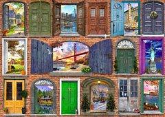 Puzzle Bluebird - Dominic Davison: Doors Of USA, 2.000 piese (70116)