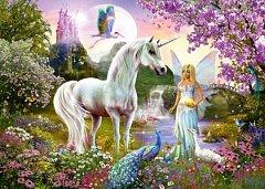 Puzzle Schmidt - Fairy And Unicorn, 2.000 piese (58951)