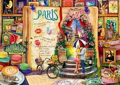 Puzzle Bluebird - Aimee Stewart: Life is an Open Book Paris, 4.000 piese (Bluebird-Puzzle-70262-P)