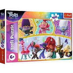 Puzzle Trefl - Lumea fericita a Trolilor, 160 piese