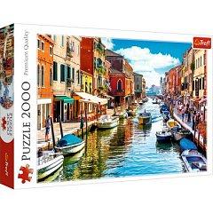 Puzzle Trefl - Spre insula Murano Venetia, 2000 piese