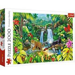 Puzzle Trefl - Padurea tropicala, 2000 piese