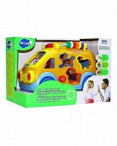 Jucarie interactiva Hola Toys - Camioneta cu forme, sunete si lumini