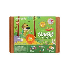 Kit creatie 3-in-1 JackInTheBox - Safari in jungla