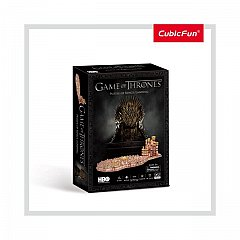Puzzle 3D CubicFun - Game of Thrones - Tinutul Regelui, 262 piese