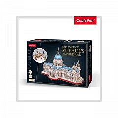 Puzzle 3D CubicFun - Catedrala St. Paul, 643 piese